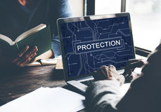 Protection Surveillance Safety Privacy Policy Concept Royalty Free Stock Photo