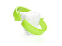 Protection of teeth Royalty Free Stock Photography