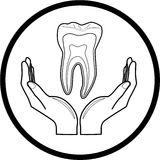 Protection of tooth Royalty Free Stock Photography