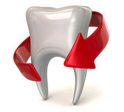 Protection of a tooth Royalty Free Stock Photos