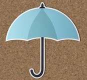 Protection umbrella security symbol icon Stock Images