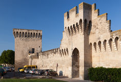 Protection Walls Avignon France Stock Photography