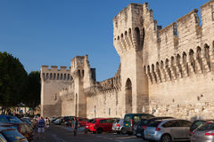 Protection Walls Avignon France Royalty Free Stock Images
