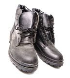 Protection Worker Shoes royalty free stock photography