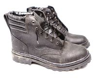 Protection Worker Shoes stock images
