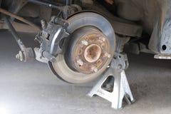 Protections de frein de voiture Photographie stock libre de droits