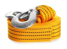 Protective belt on white background. Safety. Equipment royalty free stock photography