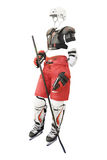 Protective clothing hockey Royalty Free Stock Images