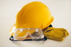 Protective Construction Worker Workwear Stock Photography