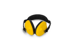Protective ear muffs Isolated Royalty Free Stock Photography