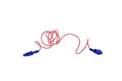 Protective ear plugs Stock Image