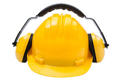 Protective equipment for industry, safety construction Stock Photography