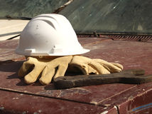 Protective equipment. Industry workers of different professions Stock Photo