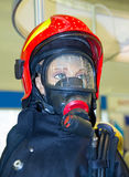 Protective equipment of the rescuer on the mannequin Royalty Free Stock Photo