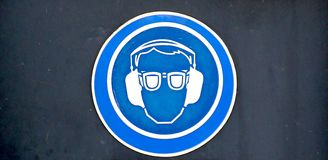 Protective Equipment Sign Stock Photos