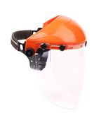 Protective face shield. Royalty Free Stock Images