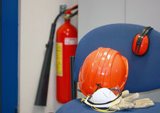 Protective gear Stock Images
