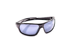 Protective gear sport sunglasses isolated in white Royalty Free Stock Photos