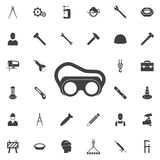 Protective glass icon. Construction icons universal set for web and mobile Royalty Free Stock Image