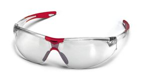 Protective glasses. Fashionable protective glasses in white back Stock Photo