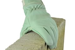 Protective glove Royalty Free Stock Photography
