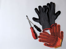 Protective gloves Royalty Free Stock Photo