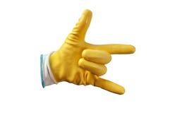 Protective gloves Stock Photo