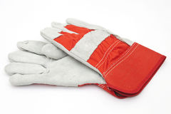 Protective hard work gloves Stock Photo