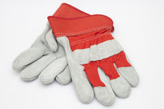 Protective hardwork gloves Royalty Free Stock Photo