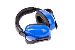Protective headphones Stock Image