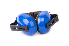 Protective headphones Royalty Free Stock Image