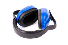 Protective headphones Royalty Free Stock Images