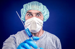 Protective inoculation Royalty Free Stock Photography