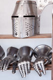 Protective medieval weapons Royalty Free Stock Photo