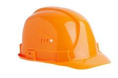 Protective plastic construction helmet Royalty Free Stock Photos