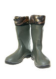 Protective rubber boots Royalty Free Stock Image