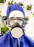 Protective suit Royalty Free Stock Photography