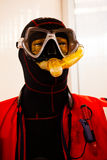 Protective suits and masks Royalty Free Stock Image