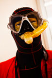 Protective suits and masks Royalty Free Stock Photos