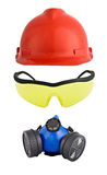 Protective work equipment Stock Photography