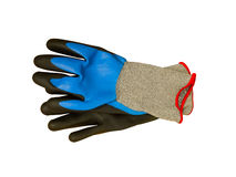 Protective work gloves Royalty Free Stock Photo