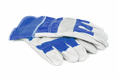 Protective work gloves Stock Photos