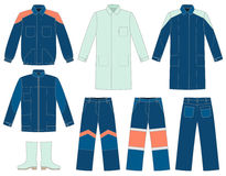 Protective work wear Stock Photos