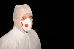 Protective Worker Costume Stock Photo