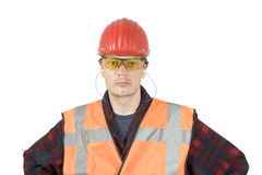 Protective workwear royalty free stock photography