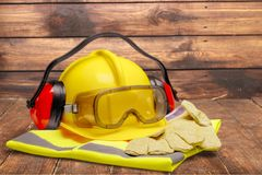 Protective Workwear Royalty Free Stock Image