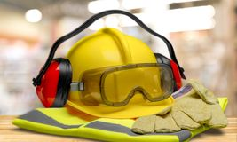 Protective Workwear Royalty Free Stock Images