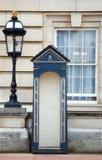 Protector de la reina - Pal de Buckingham Imagen de archivo