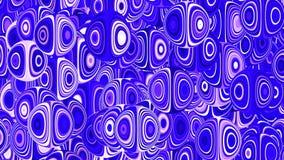 Protector de pantalla animado azul del ordenador almacen de metraje de vídeo