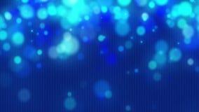 Protector de pantalla azul marino animado abstracto almacen de video